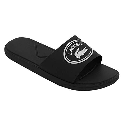 Lacoste Herren L.30 Slide 119 3 CMA Flip Flops - Schwarz/Weiß - UK 9
