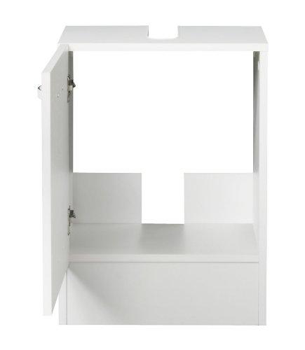 KESPER Waschbeckenunterschrank Como, Breite 40 cm weiß - 5
