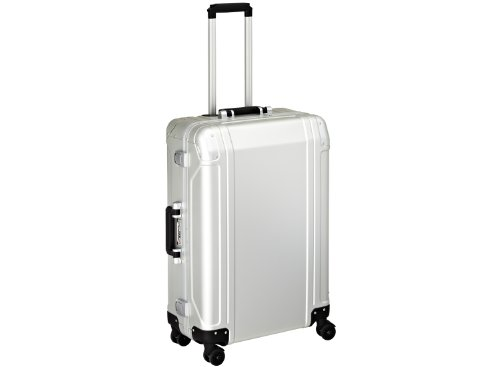 zero-halliburton-zeroller-geo-4-wheels-trolley-73-cm-silver-coloured