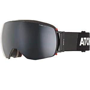 ATOMIC Herren Schneebrille Revent Q Black (+Bonus Lens) Goggle