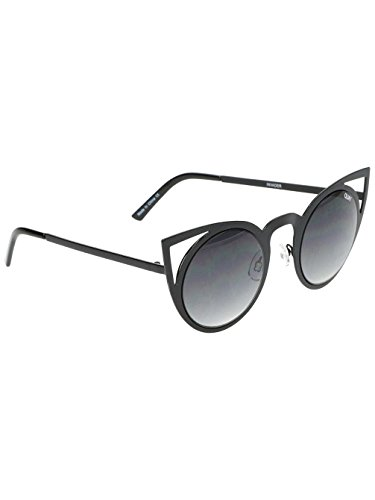 Quay Eyewear Invader, Montures de lunettes Femme, Noir (Black/Smoke), 1