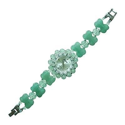 Reloj De Pulsera De Reloj De Pulsera De Reloj De Pulsera De Jade Natural De Jade Natural para Mujer de ZCRT