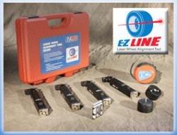 EZ-Red EZREZLINE Zugmaschine Rad Laser Alignment Tool Kit (Red Laser Kit)