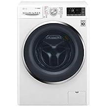 LG F4J8JH2W lavasciuga Caricamento frontale Libera installazione Bianco A