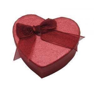 5 oder 10 Klein Rotem Herz form qualität schmuck ring kette geschenkboxen gepolstert einsatz von Fat-catz-copy-catz - 5 x rot herz geschenkboxen