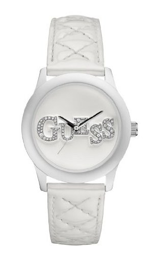Guess sg622178-white White Quilted Logo Sling Bag - Best Price in ... eb14904eddce3