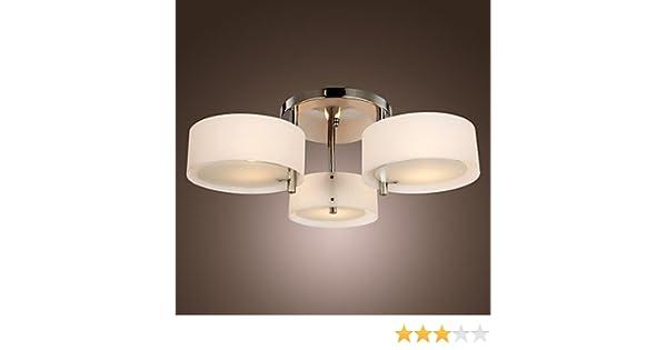 Brico Plafoniere Da Interno : Moderno lampadario 3 luci led soffitto lampade per soggiorno sala da