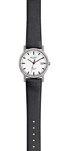 Regent F231-Herren Armbanduhr Farbe Schwarz