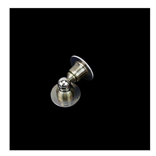 Edelstahl magnetische Tür Stop Tür Haken Metalltür Halter Türstopper Heavy Duty verbergen Boden Schraubbefestigung , bronze (Stop-schiebe-tür)