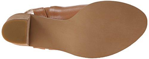 Steve Madden Nobel Damen Sandale braun (Cognac Leather)