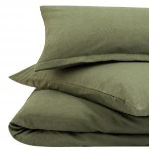 Simple vert fonc 100 flanelle de coton bross thermique for Drap housse en anglais