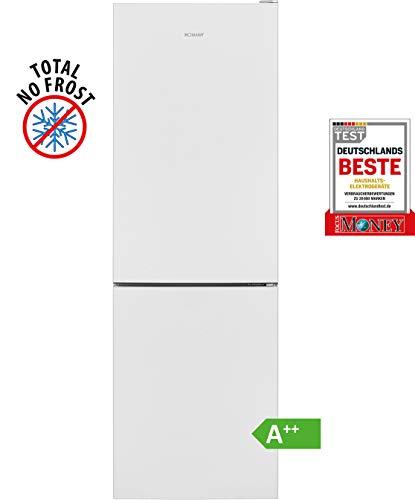 Bomann KG 7303 Kühl-/Gefrierkombination / EEK A++ / Kühlen 161 L / Gefrieren 70 L / Höhe 170 cm / Breite 54 cm / 197 kWh/Jahr / Total No Frost / multiAirflow-System