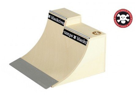 Blackriver Ramps Fingerboard Rampe Extension Quarter – Holz Fingerboard Rampe