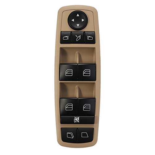 YONGYAO Interruttore della Finestra di Alimentazione Elettrica Lato Conducente ABS per Mercedes-Benz Gl350 Gl450 R350