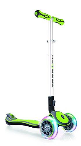 Globber Elite Light Wheels Trottinette 3 Roues Mixte Enfant, V