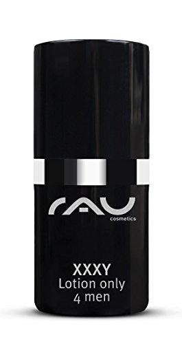 RAU XXXY Lotion only 4 men 15 ml - Anti Aging Hautcreme für Männer - Feuchtigkeitscreme gegen Trockene Haut - Wirkstoff Hyaluron-Säure gegen Falten - Make-up Wie Man