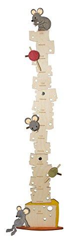 Olli Olbot 35297 - Messlatte Mäuse aus Holz