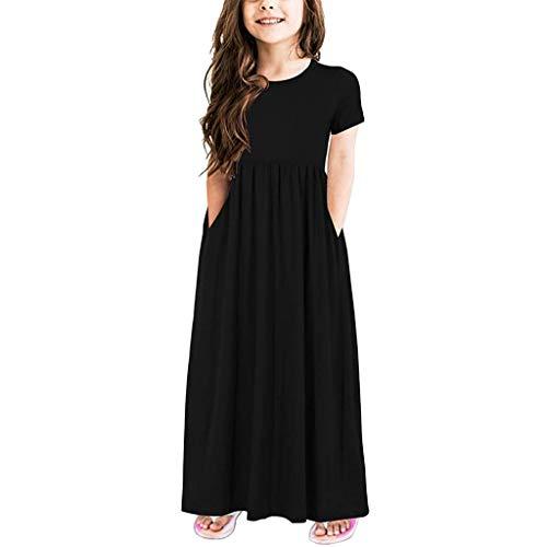 Top Rock Bow Outfit (Bekleidungssets Prinzessin Baby Kleid,Mädchen Kleider Kinderkleid Streifen Rüschen Chiffon Ärmellos Hemd Tops Tutu Rock 2pcs Kleider Set Outfit Partykleid Sommerkleid)