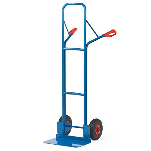 For Demand mcacpcrp6 diable roues pneumatiques A22, 300 kg Charge, 15 kg poids, 580 mm largeur x 1600 mm Hauteur