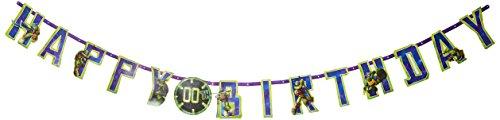 Teenage Mutant Ninja Turtles Jumbo add-an-age Geburtstag (Teenage Teen Mutant Ninja Turtle)