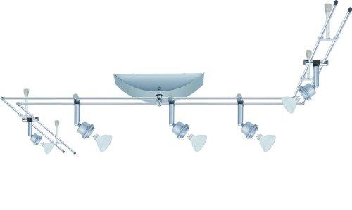Paulmann Stangensystem, Metall, GU5.3, Silber