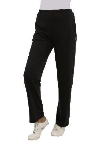 Trainingshose Jogginghose für Damen schwarz von hajo Größe: 25