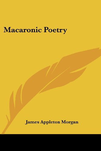 Macaronic Poetry