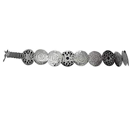Mittelalterliche Gürtel - COUCOU Age Mittelalterliche Metall Kette Gürtel
