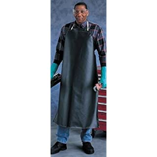 Ansell Edmont 950284 CPP Heavy Weight Hycar Chemical Protection Apron, 18 oz., 35X45, Yellow by Ansell