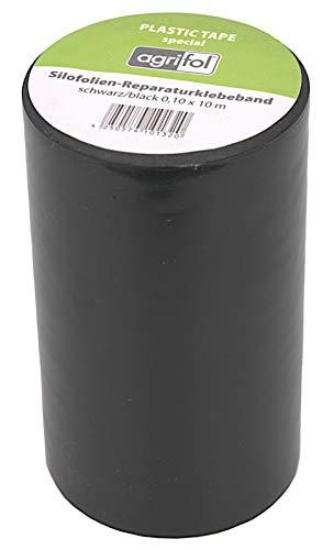 ecosoul Reparaturklebeband für Teichfolie Folie jeder Art 10cm x 10m extrem Hohe Klebekraft! (Schwarz)