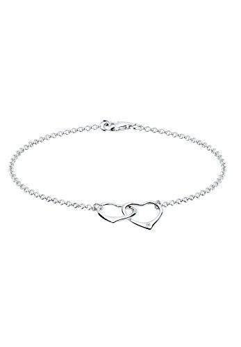 Diamore Damen Armband 925 Sterling Silber Diamant 18.0 cm weiß
