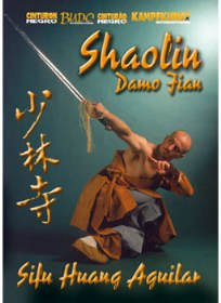 DVD: AGUILAR - SHAOLIN DAMO JIAN (324)