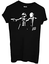 T-SHIRT Daft Punk Pulp Fiction-Comique by MUSH Dress Your Style