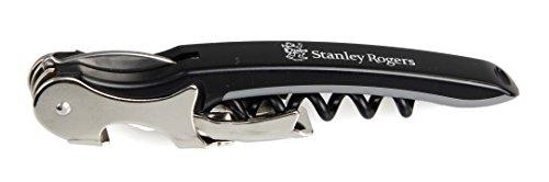 Stanley Rogers Kellnerkorkenzieher, Flaschenöffner mit Funktionsteil aus Stahl, robuster...