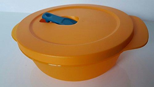 Tupperware Microondas Fix 600ml naranja Cuenco tapa