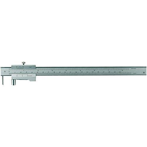 RB strumenti di misurazione-Truschino con rotella, graduazione 0,1mm, campo di misurazione 0-200mm, 1pz, 991104