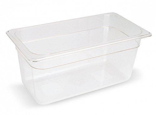 Sous Vide Behälter Polycarbonat 1/3 GN 8,1 Liter 176x325x200 Becken bis 138°C