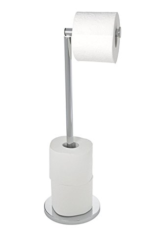 freestanding-toilet-roll-holder-with-foldable-arm