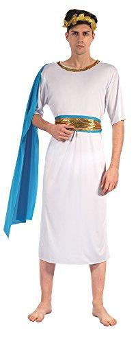 Bristol Novelty AF039 Griechische Göttin Kostüm mit Schärpe, Blau