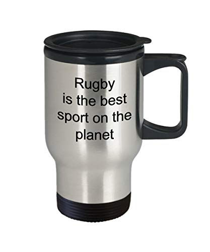 Kaffeebecher mit Rugby-Spieler, Rugby is The Best Sport on The Planet Rugby, 400 ml - 400 Rugby