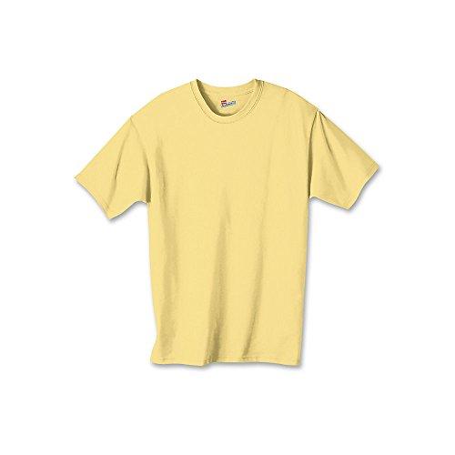 Ash Kids Shirt (Hanes Authentic TAGLESS® Kids' Cotton T-Shirt M Yellow)