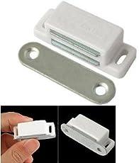 Smart Shophar Stainless Steel and Plastic Door Catcher (Silver)