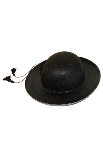 Priester Hut Kostüm - Generique - Pfarrer-Hut für