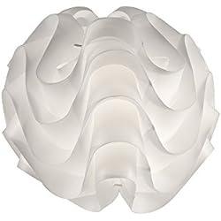 Adtwin Nube - Lámpara moderna de sobremesa, 1 x E14, diámetro de 30 cm