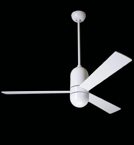 CASA BRUNO Deckenventilator Cirrus, Ø 106 cm, weiss glänzend, komplett mit Fernbedienung - 220 V