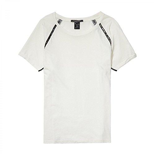 Maison Scotch Damen T-Shirt Special Maison Tee 137353 Off White
