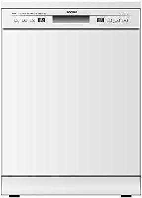 LAVAVAJILLAS INFINITON DIW-60.4 Blanco Ancho 60CM (A++, Display LED, Tercera Bandeja, Control Electronico, Independiente)