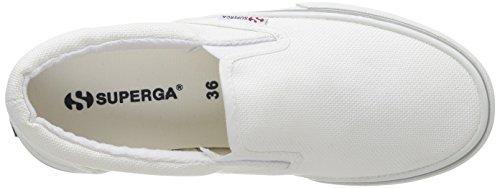 Superga 2311-Cotu, Mocassini, Unisex - adulto 901 White