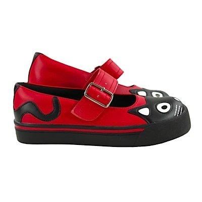 Baskets maryJane t.u. k-cAT fACE rouge Rouge - Rouge