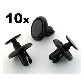 Wadoy Auto Trim Clips for Replaces Lexus & Toyota 90467-07201 Engine Cover Fastener Clips ( Pack of 10 )